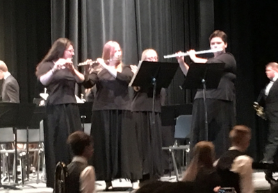 Flute Solo Fall Band Concert 2016