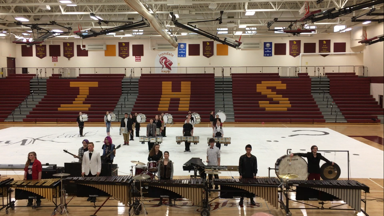 St. Francis Winter Drumline Gets 1st Place
