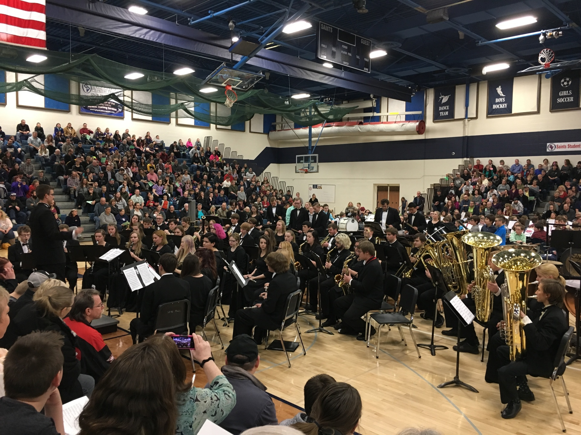 Wind Ensemble - All District Concert 2017